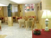 Hotel Reyes Católicos: Cafe bar