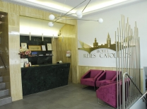 Hotel Reyes Católicos: Reception