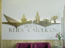 Hôtel Reyes Católicos: Accueil